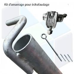 Kit d'amarrage pour échafaudage