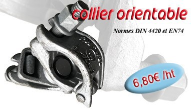 Collier orientable